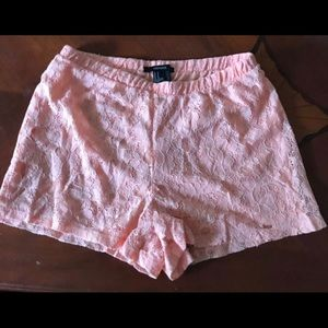 Forever 21 Lace Shorts Size M